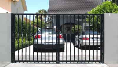 Steel Gates And Fence Panels, And Galvanised Metal Entrance Gates And  Wrought Iron Gates.