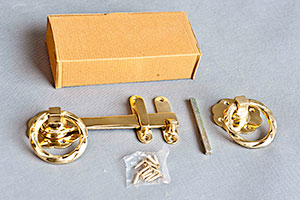 Brass Ring Latch
