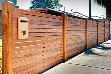 picket fence fencing horizontal board fence