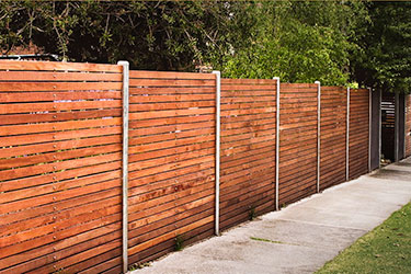 Modern Fence Design Contemporary Fencing Horizontal Boards