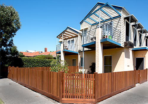 Pickets picket fence fencing materials merbau picket fence workwithnaturefo