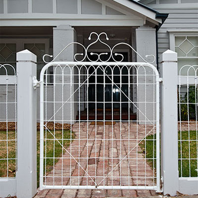 Heritage Woven Wire Gates