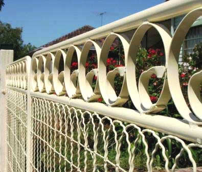 Californian Bungalow picket Fences woven wire fencing Garden Gates