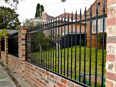 Steel Gate Wrought Iron Gates And Metal Fencing